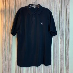 Burberry Brit Black Short Sleeve Polo Size XXL